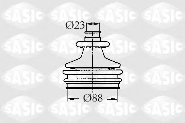 2933803 Пыльник ШРУСа CITROEN BERLINGO/XSARA/PEUGEOT 205-605/PARTNER 1.6-2.0 87-04 нар.