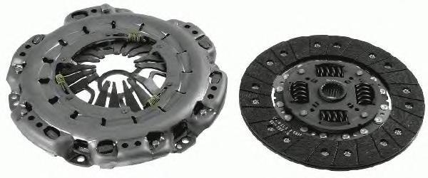 3000951841 Сцепление к-т VW CRAFTER 30-35/30-50 2.5TDI 06- 65/80/100 h.p. без выжимного