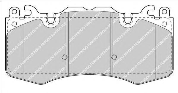 FDB4379 Колодки тормозные LAND ROVER DISCOVERY/RANGE ROVER/SPORT 3.0/5.0 09- передние