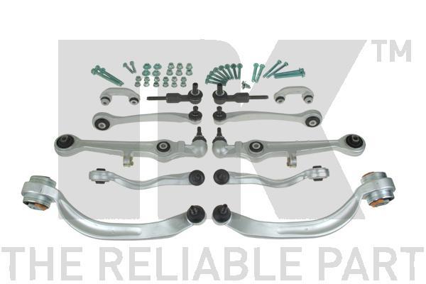 5014794 Комплект подвески VW PASSAT/AUDI A4 передней (8 рыч+2 нак+2 тяг.стаб.+крепеж)