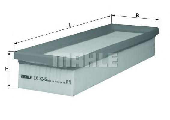 LX3245 Фильтр воздушный CITROEN C3/PEUGEOT 207 1.1/1.4 06-