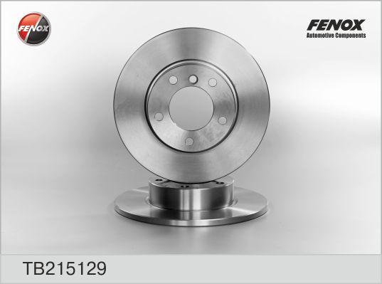 TB215129 Диск тормозной BMW 3 E36 1.6-1.9 90-00 передний не вент.D=286мм.
