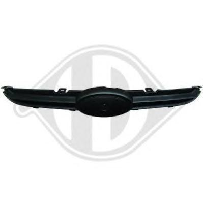 1405040 Решетка радиатора, накладка верхняя / FORD Fiesta 08 ~