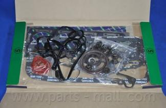 PFCM007 Комплект прокладок двигателя CHEVROLET AVEO 1.4/1.6