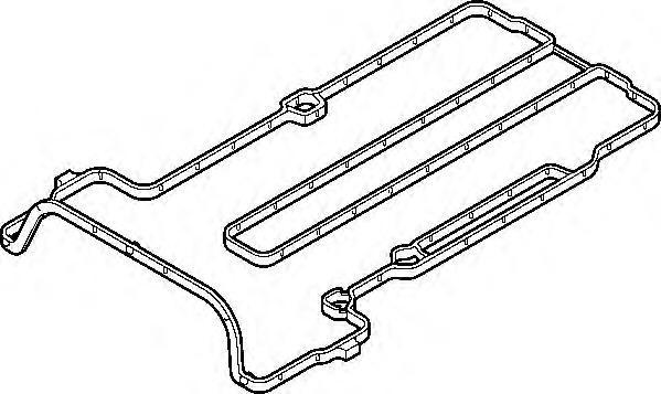 691370 Прокладка клапанной крышки Opel Astra 1.2i A12XEL/A12XER 00-