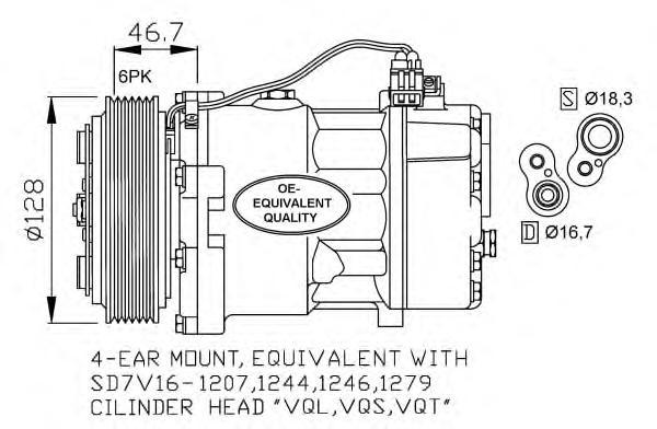 32168 Компрессор VAG T4