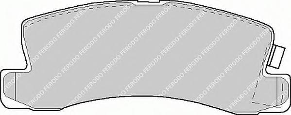 FDB478 Колодки тормозные TOYOTA AVENSIS/CAMRY/CARINA/CELICA/COROLLA 86-03 задние