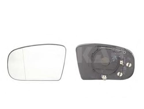 6472702 Стекло зеркала MERCEDES W220 98- правое с обогревом