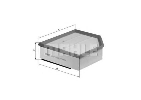 LX12891 Фильтр воздушный VOLVO S60/V70/XC90/XC70 2.4D 05-