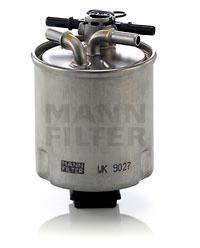 WK9027 Фильтр топливный NISSAN X-TRAIL/QASHQAI 2.0D 07-