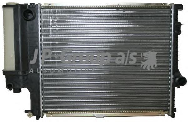 1414200300 Радиатор охлаждения ДВС BMW 5 V (E39) 95-00