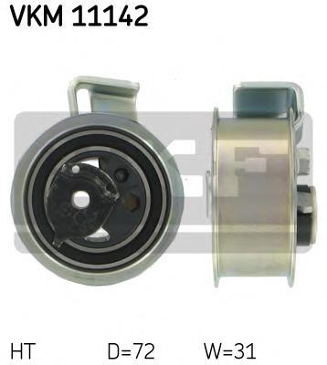 VKM11142 Ролик натяжной ремня ГРМ VW Passat 1.9TDI 08/98