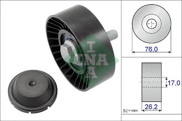 532063210 Ролик ремня приводного VAG 1.2T 09-