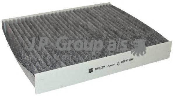 1528101000 Фильтр вентиляции салона, угольный / FORD C-Max,Focus-II,S-Max,Galaxy,Mondeo-IV;VOLVO C30,S40,V50,C70  03~