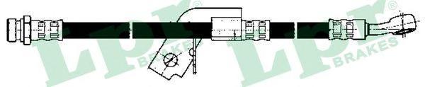 6T48157 Шланг тормозной HYUNDAI GETZ 02- задний левый L=480мм.