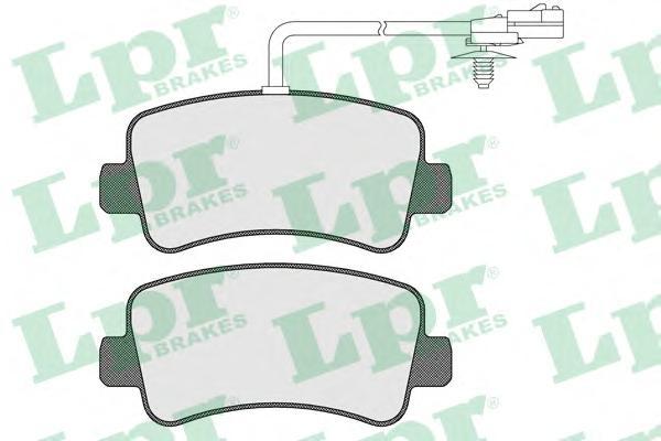 05P1578 Колодки тормозные OPEL MOVANO/RENAULT MASTER 10- (для одинарных шин) задние