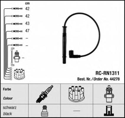 44278 Провода в/в RENAULT 1.2 16V RC-RN1311