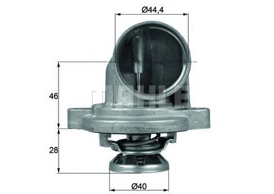 TI2380 Термостат MB W638 2.3TD 96-03