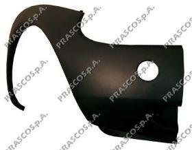 FD0061114 Бампер передний, левая часть-грунтованный / FORD Ka 96~