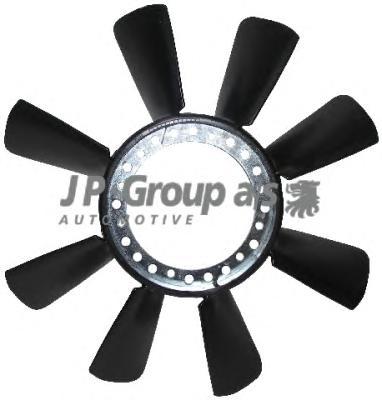 1114900300 Крыльчатка вентилятора / AUDI A4, A6, A8; VW Passat, SKODA Superb 94~
