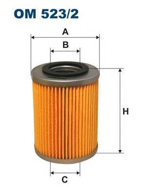 OM5232 Фильтр масляный OPEL VECTRA B 2.0D 16V