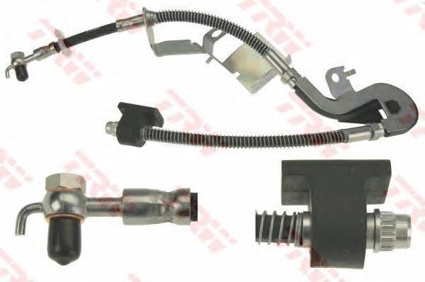 PHD1132 Шланг тормозной  PEUGEOT 407,407SW 03/04 -