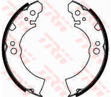 PSP179 Колодки тормозные барабанные задн NISSAN: SUNNY ALL 82-91