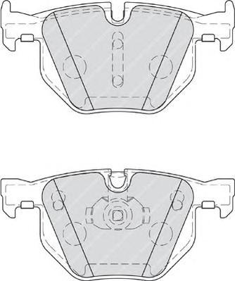 FDB4067 Колодки тормозные BMW E70/F15/E71/F16 задние