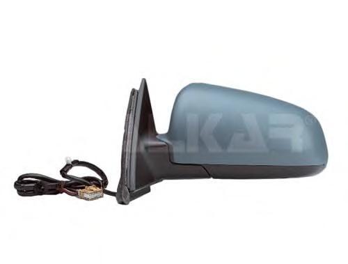 6127503 Зеркало в сборе с электрорегулировкой левое (асферический элемент) / AUDI A4 01~05
