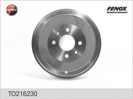 TO216230 Барабан тормозной FIAT DOBLO 01-/IDEA 04-/LINEA 07-/MAREA 96-/MULTIPLA 99-/TIPO