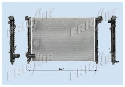 01023090 Радиатор, охлаждение двигателя
