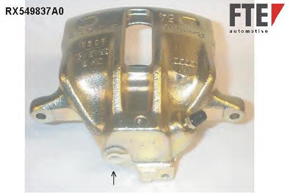 RX549837A0 Тормозной суппорт Fr L VAG A4,Pass 94-08 восст.
