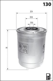 elg5406 Фильтр топливный Partner B9