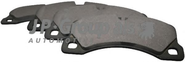 1163607110 Колодки тормозные дисковые передние /  PORSHE Cayenne;VW Touareg  07 ~