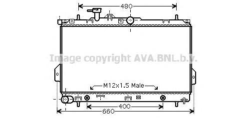 HY2096 Радиатор системы охлаждения HYUNDAI: MATRIX (FC) 1.6/1.8 01 - 05
