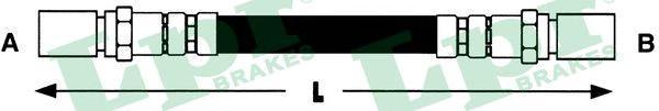 6T47074 Шланг тормозной OPEL ASCONA 423мм