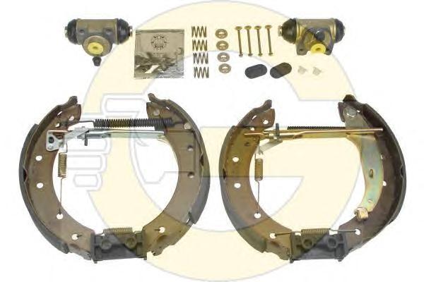 5310581 Ремкомплект барабан.тор.мех-ма RENAULT LOGAN колодки+цил.+креп.203мм сист.TRW