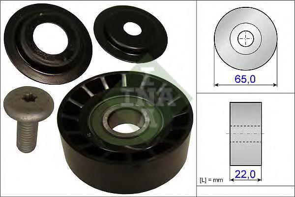 532063910 Ролик ремня приводного KIA CEED/CERATO 06-/RIO 06-/VENGA 10- DIESEL