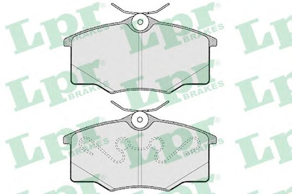 05P762 Колодки тормозные дисковые передн VOLVO: V40 универсал 00-04