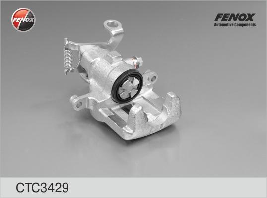 CTC3429 Суппорт торм.FORD FOCUS 98-04 зад.лев.