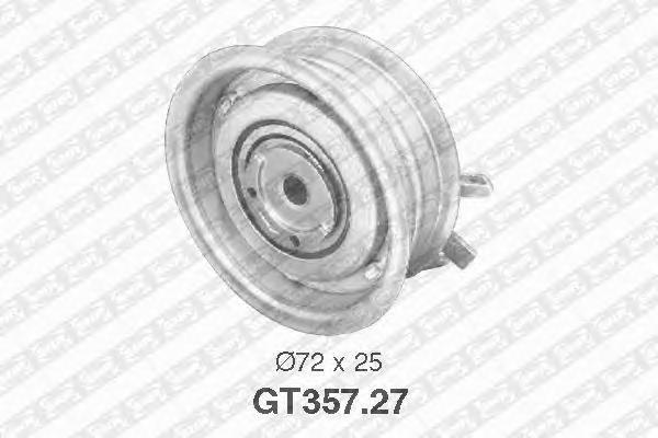GT35727 Ролик ремня ГРМ VAG AEH/AHL/AKL/ALZ/ANA/APF/ARM/AVU/BGU/BSE/BSF/BFQ