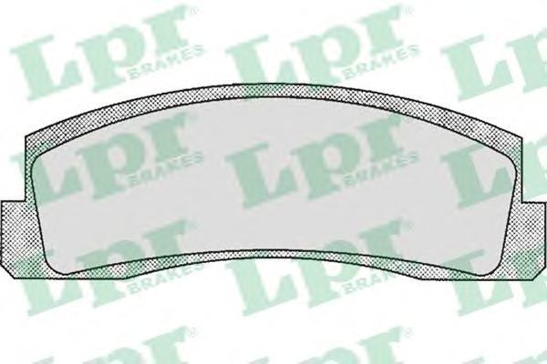 05P179 Колодки тормозные CHEVROLET NIVA/ ВАЗ 2121 передние
