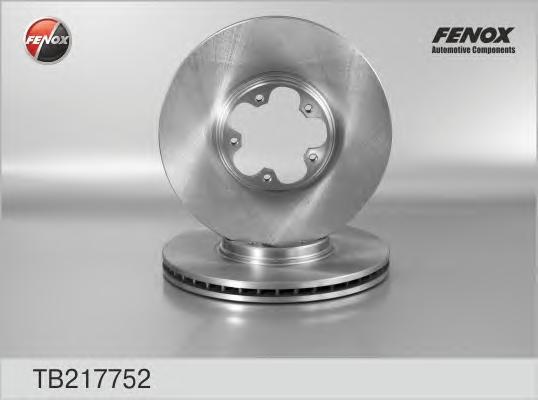 TB217752 Диск тормозной FORD TRANSIT 2.0D 00-06 передний вент.D=276мм.