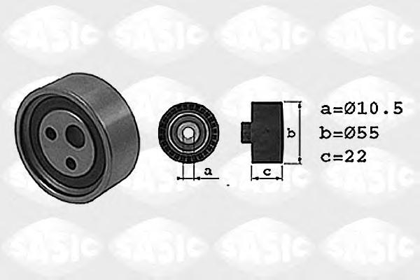 1704001 Ролик ремня ГРМ RENAULT LOGAN/CLIO/KANGOO/ SANDERO 1.4-1.6i K7J/K7M натяжной