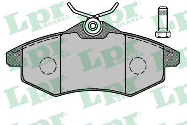 05P805 Колодки тормозные CITROEN C2/C3 1.1-1.4 02- передние