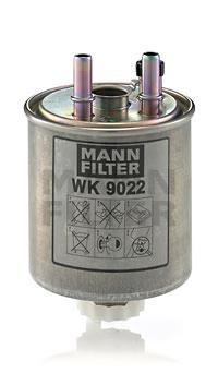 WK9022 Фильтр топливный RENAULT KANGOO/LAGUNA/TWINGO 1.5D-3.0D 07-