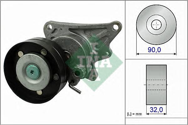 534047310 Натяжитель ремня приводного MB M113/M155 01-