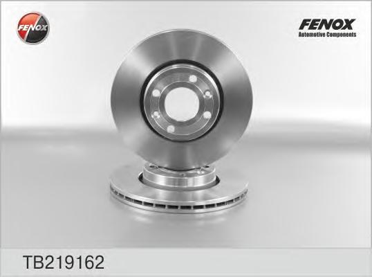 TB219162 Диск тормозной NISSAN MICRA 03-/NOTE 06-/RENAULT MEGANE 03-/CLIO 05- перед.вент.