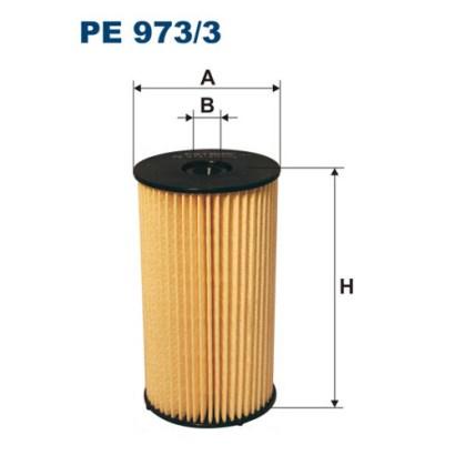 PE9733 Фильтр топливный VAG OCTAVIA/PASSAT/TOURAN 1.9/2.0 TDI