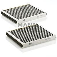 CUK25332 Фильтр салона BMW F10/F01 10- угольный (упак.2шт.)